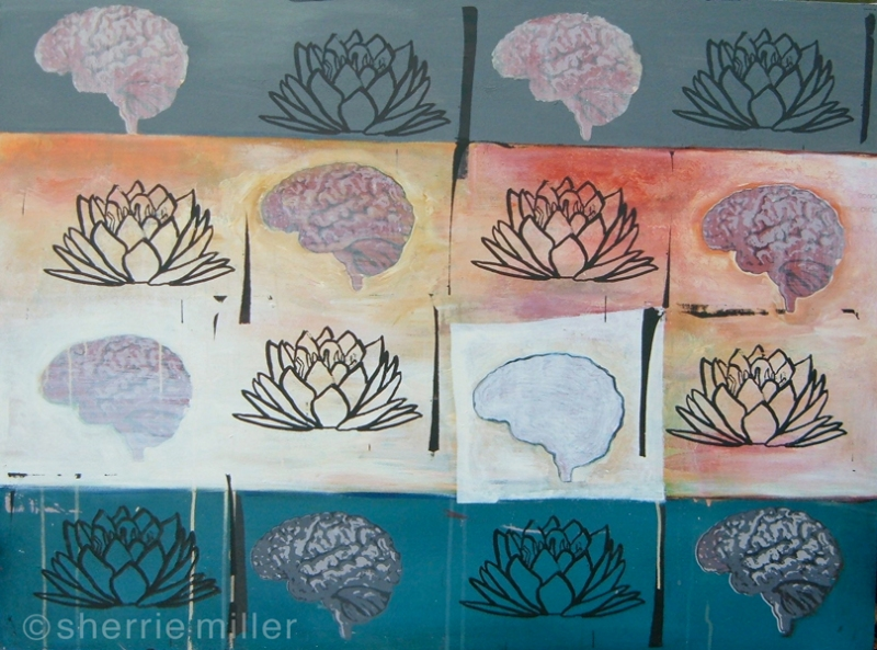 painting by artist Sherrie Miller titled Yantra