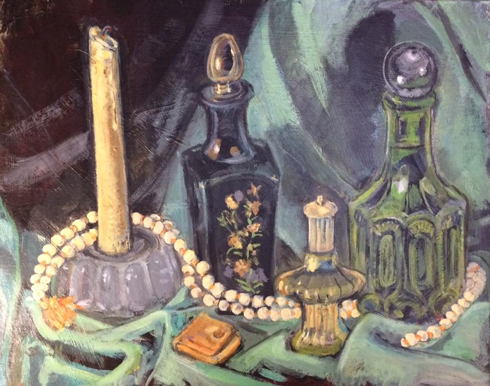 painting by artist Sherrie Miller titled Perfume