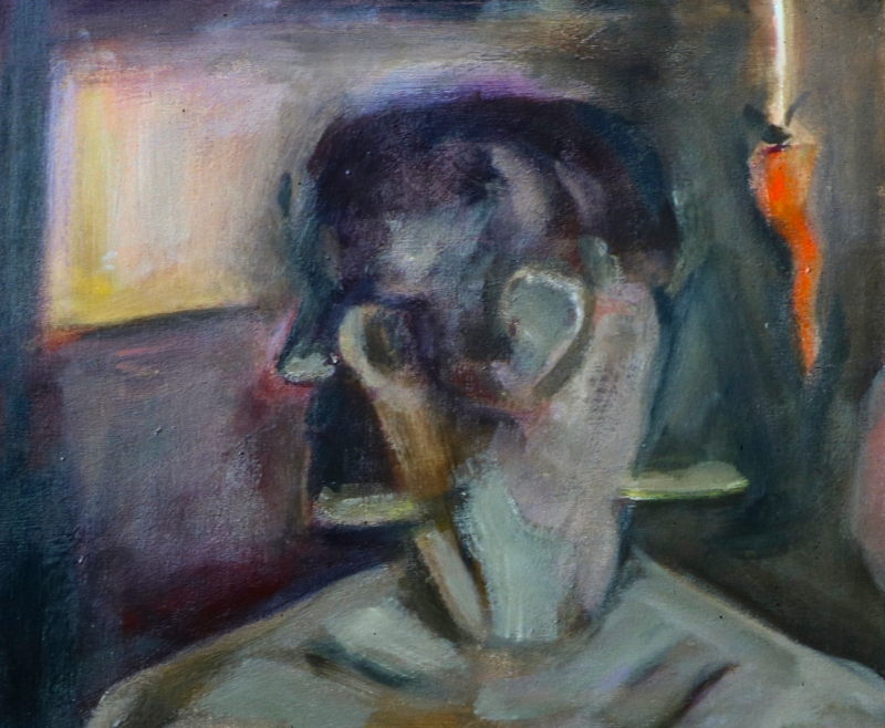 painting by artist Sherrie Miller titled Gemini
